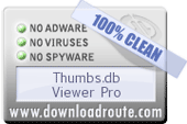 Thumbs.db Viewer Pro is Verified, which means that does not contain any malicious components